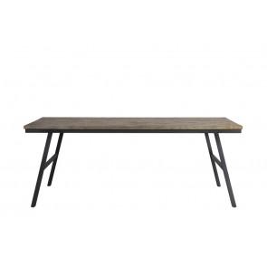 Jedálenský stôl 200x90x76 cm COMASA antique grey