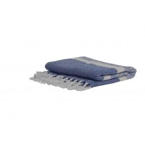 Pléd/deka 150x125 cm SENE blue