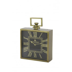 Hodiny 30x10x30 cm LONDON antique bronze-black