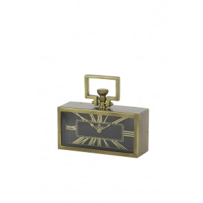 Hodiny 31x10x10 cm LONDON antique bronze-black