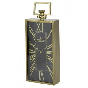 Hodiny 20x10x51 cm LONDON antique bronze-black