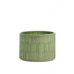 Svietnik Ř11x8,5 cm FORTIOS light green