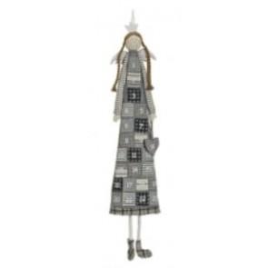 Kalendár adventný - sivý anjel, 120 cm