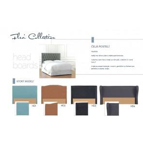 FLEXI - Čelá postelí a postele