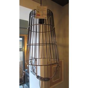 Lampa závesná, bronzová, rozmery: 30x20cm